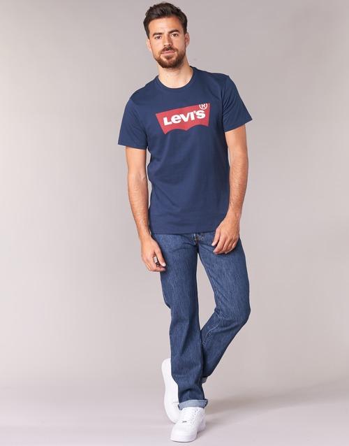 Oblačila Moški Jeans straight Levi's 501® Levi's®ORIGINAL FIT Stonewash