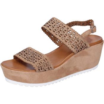 Čevlji  Ženske Sandali & Odprti čevlji Femme Plus BJ895 Rjav