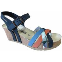 Čevlji  Ženske Sandali & Odprti čevlji Mephisto MEPHLANNYnavy blu
