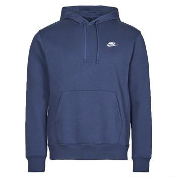 Oblačila Moški Puloverji Nike NIKE SPORTSWEAR CLUB FLEECE Bela