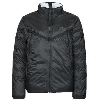 Oblačila Moški Puhovke Nike M NSW TF RPL REVIVAL REV JKT Črna / Siva