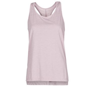 Oblačila Ženske Majice brez rokavov Nike NIKE YOGA Vijolična