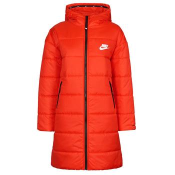 Oblačila Ženske Puhovke Nike W NSW TF RPL CLASSIC HD PARKA Rdeča / Črna / Bela