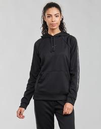 Oblačila Ženske Puloverji Nike W NSW PK TAPE PO HOODIE Črna