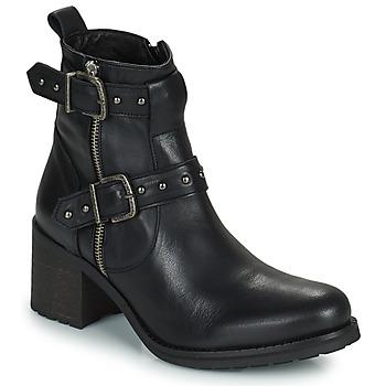 Čevlji  Ženske Mestni škornji    Regard UGLAS Črna
