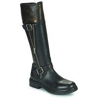 Čevlji  Ženske Mestni škornji    Regard CACHY Črna