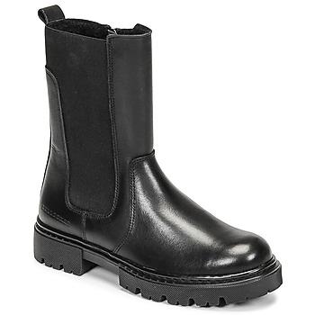 Čevlji  Deklice Polškornji Bullboxer AJS504BLCK Črna