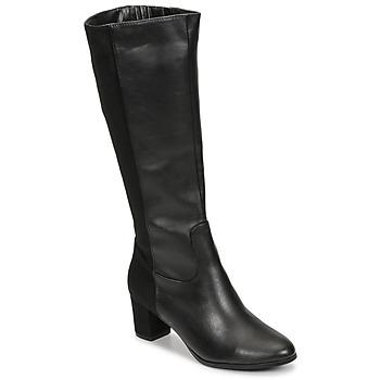 Čevlji  Ženske Mestni škornji    Spot on F50366 Črna