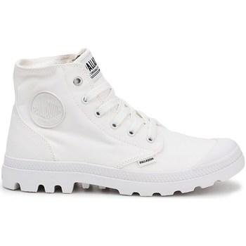 Čevlji  Moški Visoke superge Palladium Manufacture Pampa HI Bela