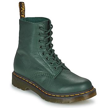 Čevlji  Ženske Polškornji Dr Martens 1460 PASCAL Zelena