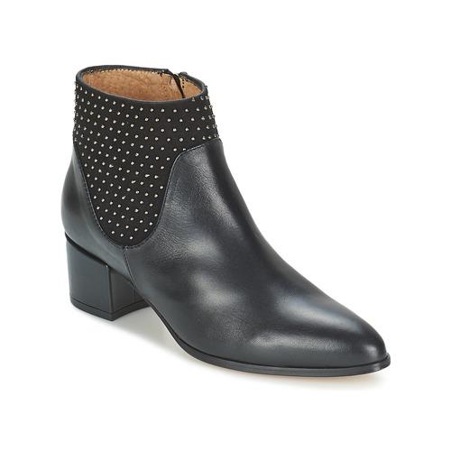 Čevlji  Ženske Gležnjarji Fericelli TAMPUT Črna