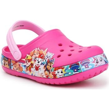 Čevlji  Deklice Cokli Crocs FL Paw Patrol Band Clog 205509-670 pink