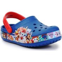 Čevlji  Dečki Sandali & Odprti čevlji Crocs FL Paw Patrol Band Clog 205509-4GX red, navy