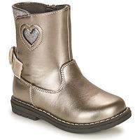 Čevlji  Deklice Mestni škornji    Chicco CALLINA Srebrna