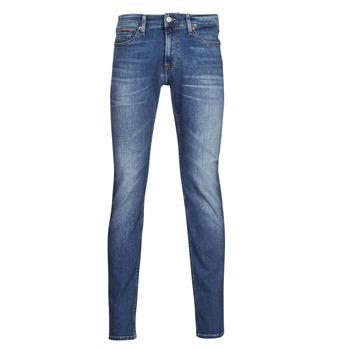 Oblačila Moški Kavbojke slim Tommy Jeans SCANTON SLIM AE136 MBS Modra