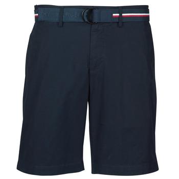 Oblačila Moški Kratke hlače & Bermuda Tommy Hilfiger BROOKLYN LIGHT TWILL Modra