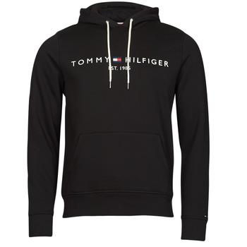 Oblačila Moški Puloverji Tommy Hilfiger TOMMY LOGO HOODY Črna
