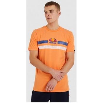 Oblačila Moški Majice s kratkimi rokavi Ellesse CAMISETA CORTA HOMBRE  SHI09758 Oranžna