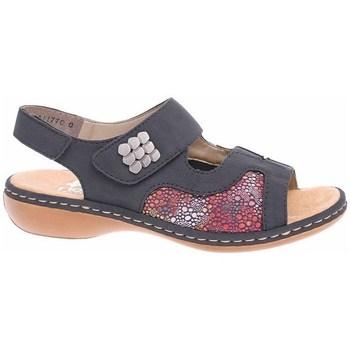 Čevlji  Ženske Sandali & Odprti čevlji Rieker 6598914 Rdeča, Siva, Grafitna