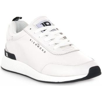 Čevlji  Moški Nizke superge Richmond BIANCO NAPPA Bianco