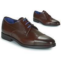 Čevlji  Moški Čevlji Derby Azzaro GARONNE Cognac