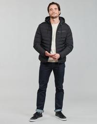 Oblačila Moški Puhovke Redskins HARPER LUTETIA Črna
