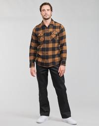 Oblačila Moški Hlače s 5 žepi Dickies ORIGINAL FIT STRAIGHT LEG WORK PNT Črna