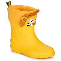 Čevlji  Otroci škornji za dež  Isotoner 99314 Rumena