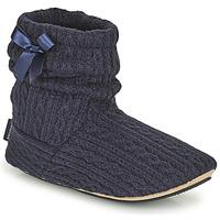 Čevlji  Ženske Nogavice Isotoner 97720 Modra