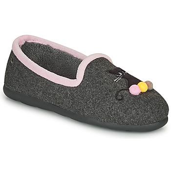 Čevlji  Ženske Nogavice Isotoner 97311 Siva / Rožnata