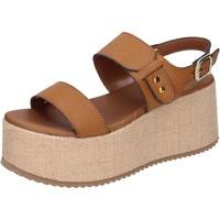 Čevlji  Ženske Sandali & Odprti čevlji Sara Collection Sandale BJ921 Rjav