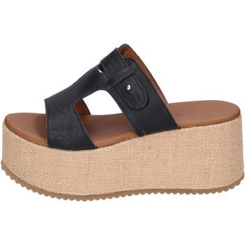 Čevlji  Ženske Natikači Sara Collection Sandale BJ922 Črna