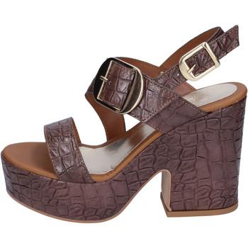 Čevlji  Ženske Sandali & Odprti čevlji Sara Collection Sandale BJ924 Rjav