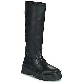 Čevlji  Ženske Mestni škornji    Musse & Cloud BRULI Črna