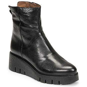Čevlji  Ženske Polškornji Wonders E-6232 Črna