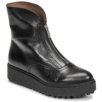 Čevlji  Ženske Polškornji Wonders A-9520 Črna