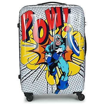 Torbice Trdi kovčki American Tourister MARVEL LEGENDS POP ART 77 CM Večbarvna