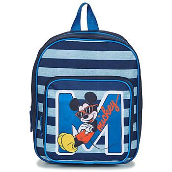 Torbice Dečki Nahrbtniki Disney SAC A DOS MICKEY 31 CM Modra