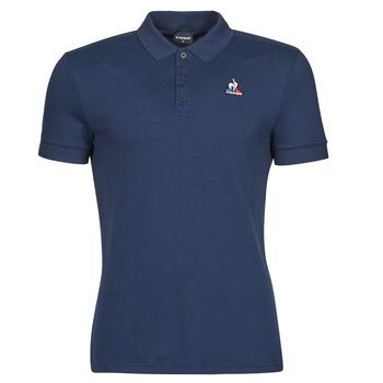 Oblačila Moški Polo majice kratki rokavi Le Coq Sportif ESS POLO SS N 1 M Modra
