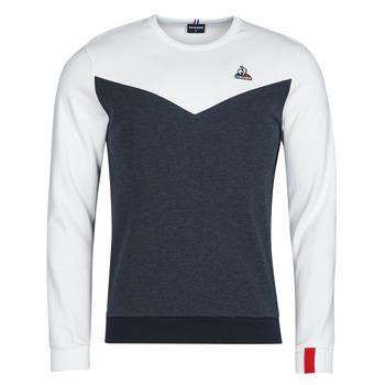 Oblačila Moški Puloverji Le Coq Sportif SAISON 1 CREW SWEAT N 1 Bela