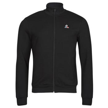 Oblačila Moški Športne jope in jakne Le Coq Sportif ESS FZ SWEAT N 3 M Črna