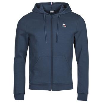 Oblačila Moški Športne jope in jakne Le Coq Sportif ESS FZ HOODY N 3 M Modra