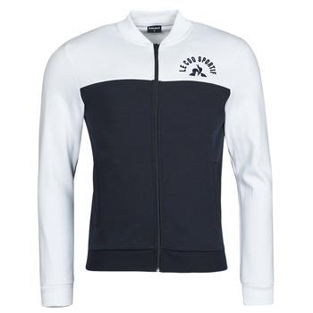 Oblačila Moški Športne jope in jakne Le Coq Sportif SAISON 2 FZ SWEAT N 1 Bela