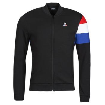 Oblačila Moški Športne jope in jakne Le Coq Sportif TRI FZ SWEAT N 1 M Črna