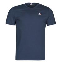 Oblačila Moški Majice s kratkimi rokavi Le Coq Sportif ESS TEE SS N 3 M Modra