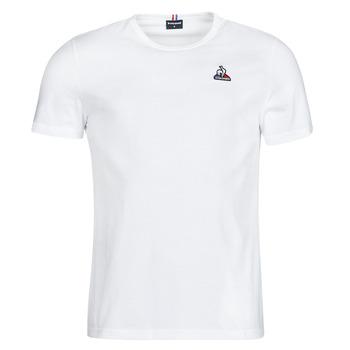 Oblačila Moški Majice s kratkimi rokavi Le Coq Sportif ESS TEE SS N 3 M Bela