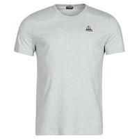 Oblačila Moški Majice s kratkimi rokavi Le Coq Sportif ESS TEE SS N 3 M Siva / Sepraný