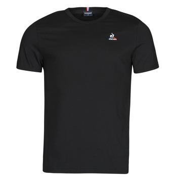 Oblačila Moški Majice s kratkimi rokavi Le Coq Sportif ESS TEE SS N 3 M Črna