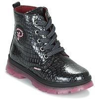Čevlji  Deklice Polškornji Pablosky 404157 Črna