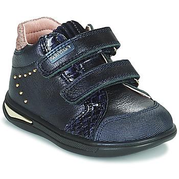 Čevlji  Deklice Visoke superge Pablosky 6122 Modra